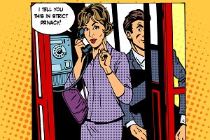Privacy surveillance phone conversat