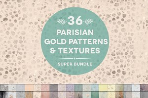 36 Parisian Patterns & Textures