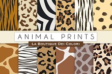 Animal Prints Digital Paper