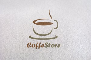 Cafe / badge / expresso, coffe brand