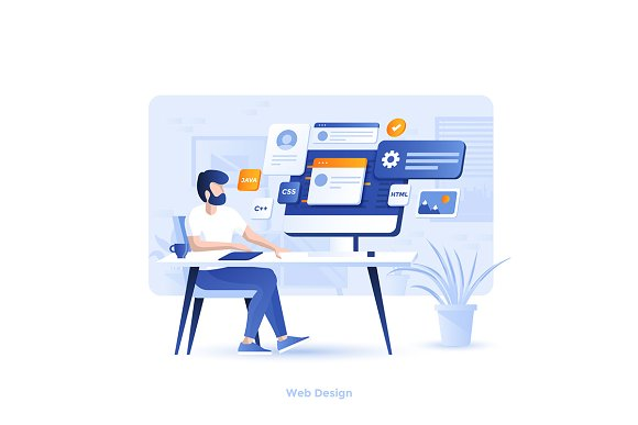 Modern Flat design Business concepts in Illustrations - product preview 10