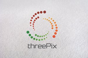 pixel media, studio, circle, unique