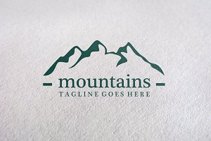 nature/ mountaints / adventure Logo