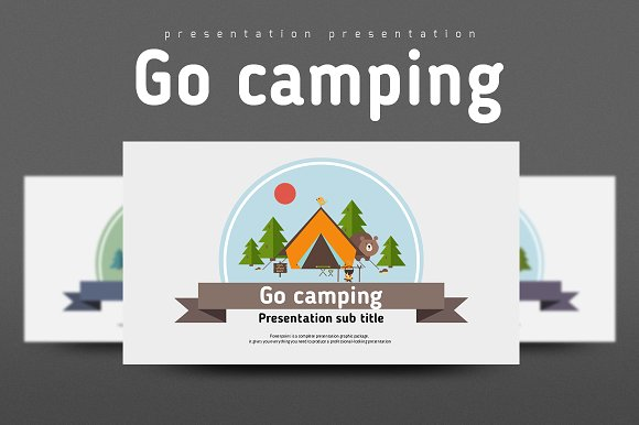 how to give a camping presentation