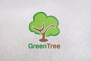 natural, wood, logo tree, gardening
