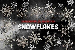 Vector Snowflake Clip Arts