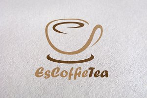 Coffe Shop, Drink, coffe cup logo