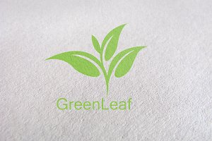 tree, tea, leaf, green logo Template