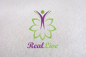 care, herbal, medical, beauty logo