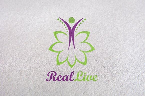 care, herbal, medical, beauty logo