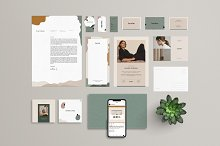 Bambie Brand Identity Pack by  in Stationery