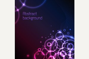 Abstract plasma background