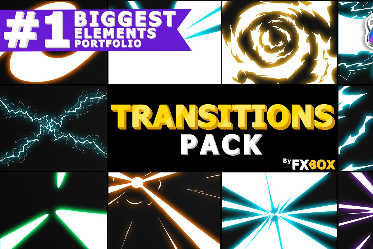 Electric Transitions Apple Motion