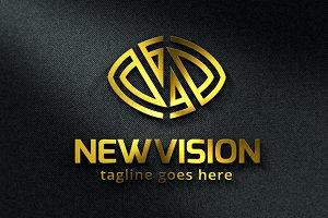 Letter N Logo / Vision Logo Template