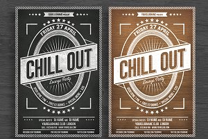 Chill Out Flyer/Poster