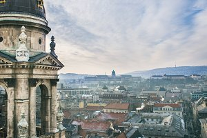 The view over Budapest, Hungary