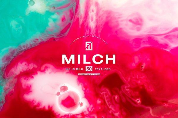 Textures: flyerwrk - Milch - 50 Ink in Milk Backgrounds