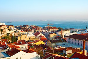 Lisbon old twn. Portugal