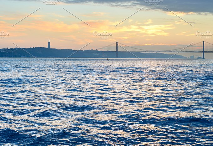 25 April bridge. Lisbon, Portugal - Architecture