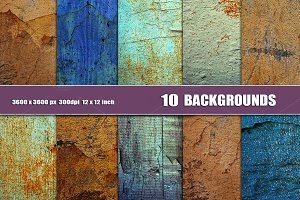 GRUNGE WALL BACKGROUND TEXTURES