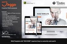Jingga - Creative Muse Template