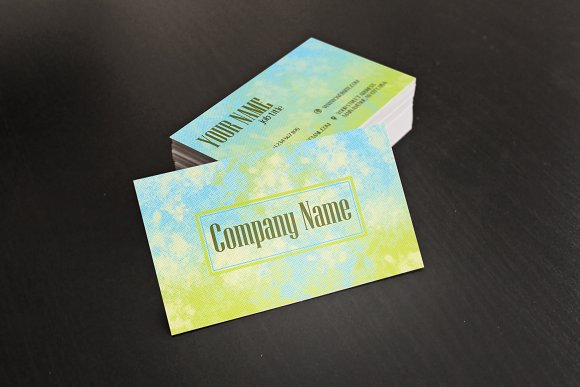 Business card template in Business Card Templates
