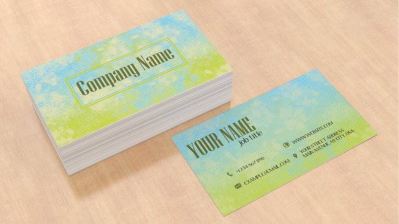Business card template in Business Card Templates - product preview 2
