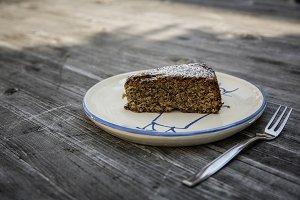 almond limoncello cake