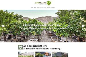 Lifeplants - Tree Nursery WP Theme