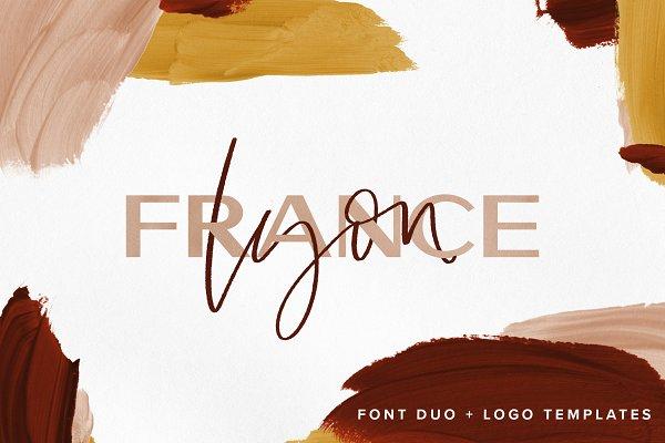 Lyon | Duo with Free Logo Templates