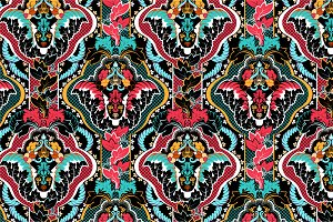 5 Ethnic Seamless Patterns