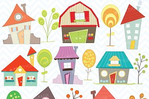 House clipart commercial use