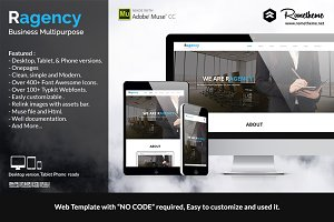 Ragency Multipurpose Muse Template
