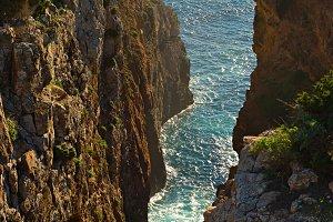 Rocky Portugal coast, Algarve region