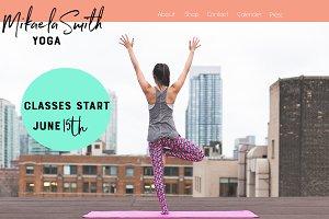 Yogi Website Mock Up