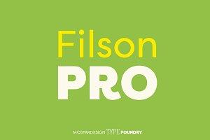 Filson Pro Font Family (16 fonts)