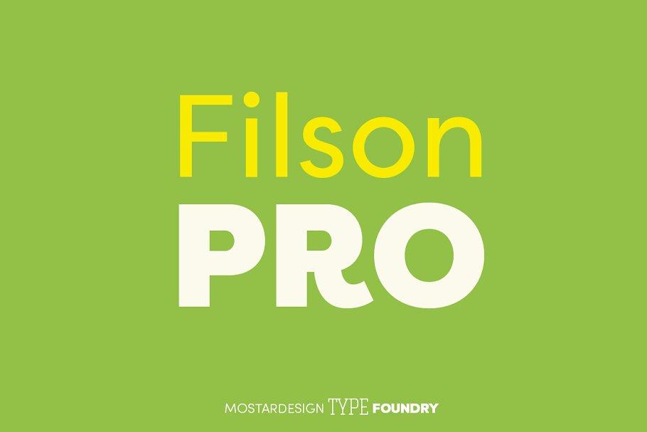 filson pro font family free download