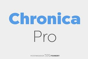 Chronica Pro Family (18 fonts)