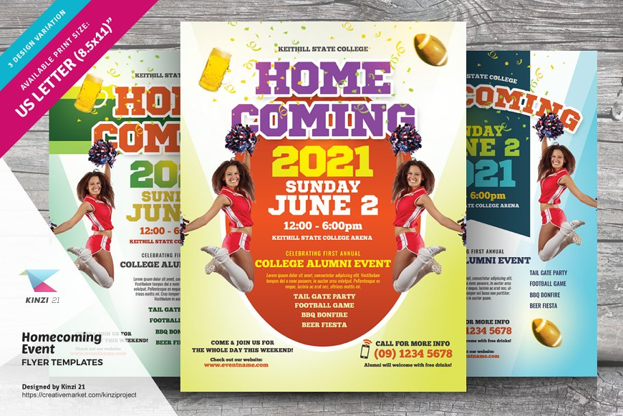 Free Event Flyer Templates | Homecoming Event Flyer Templates Flyer Templates