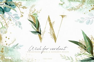 NEW! Wish For Verdant - Design Set