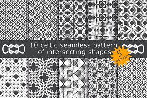 10 celtic patterns. Package 5