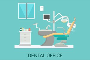 Vector dental office