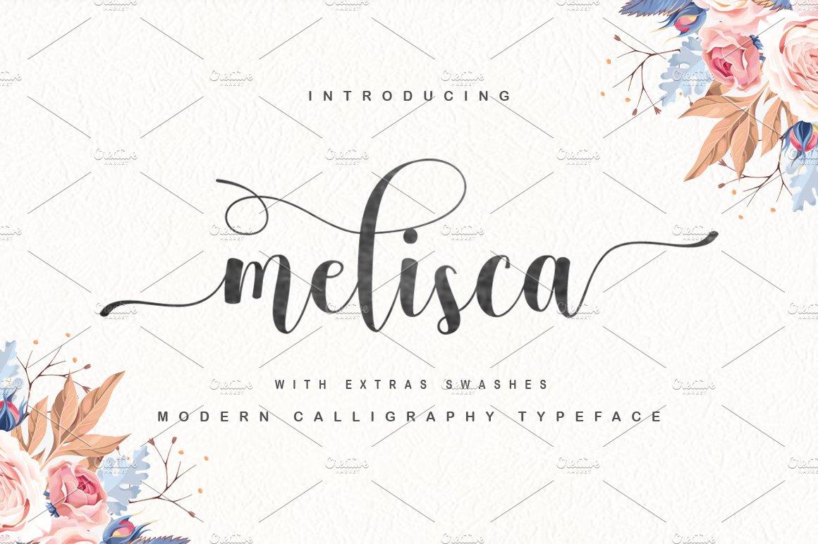 melisca ~ Script Fonts ~ Creative Market