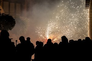 The correfocs is a typical Catalan c