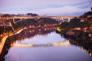 Beautiful Porto skyline,Portugal