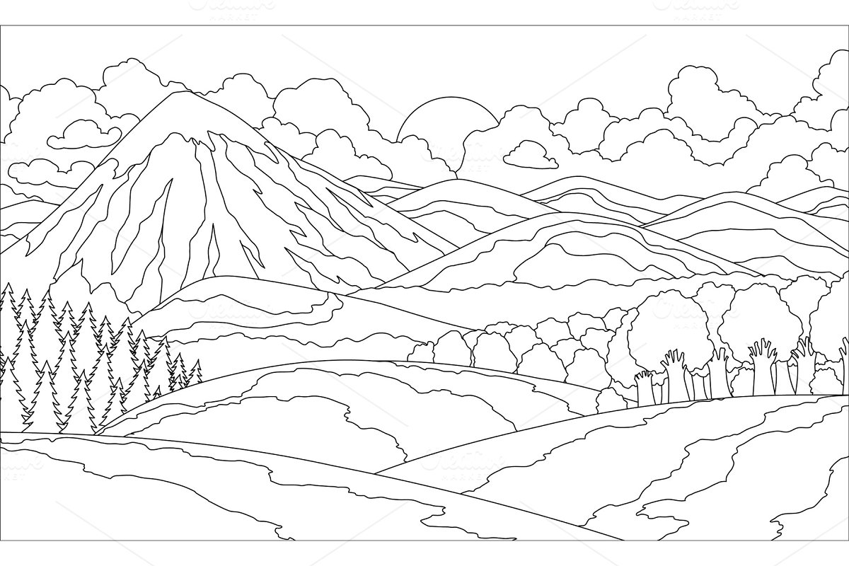 Images of Summermountain Animal Coloring Pages - Sabadaphnecottage
