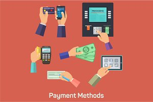 Vector possibilities of payment