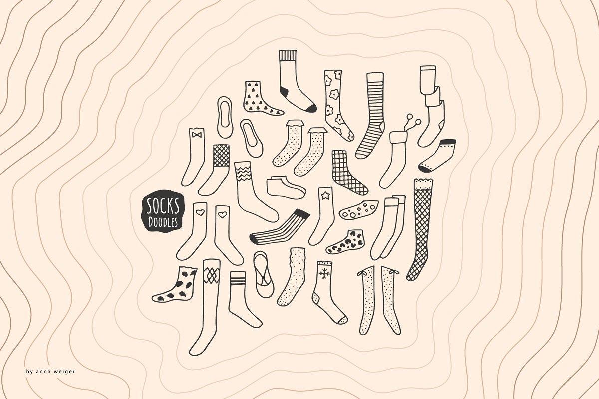 Socks Doodles