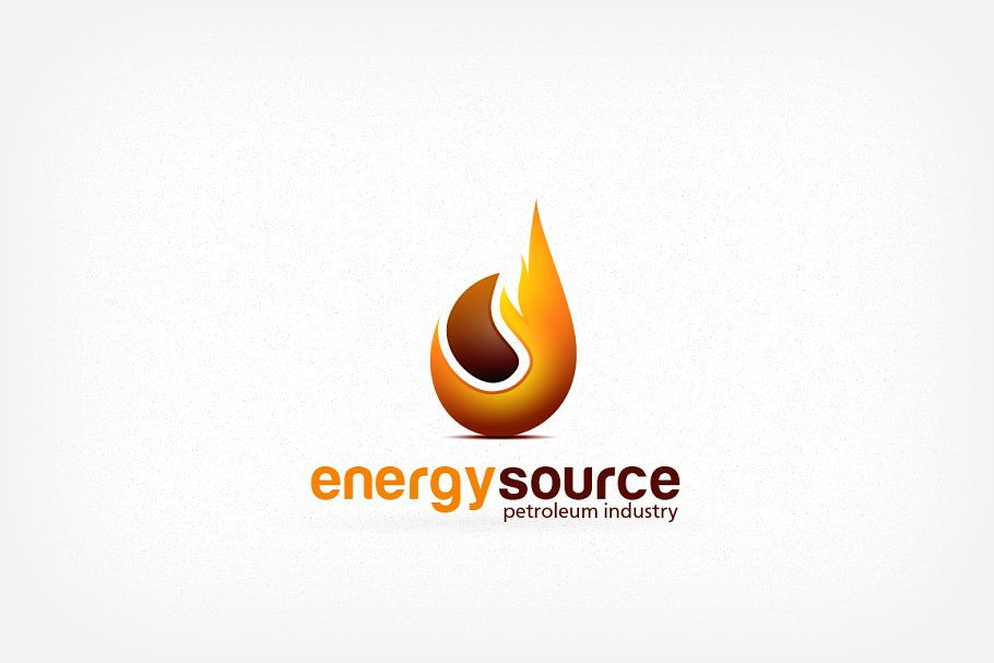 Petroleum and Gas Energy Logo in Logo Templates - product preview 8