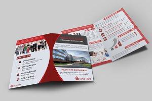 Corporate Bi-Fold Brochure V-1